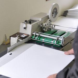 機械を使った作業